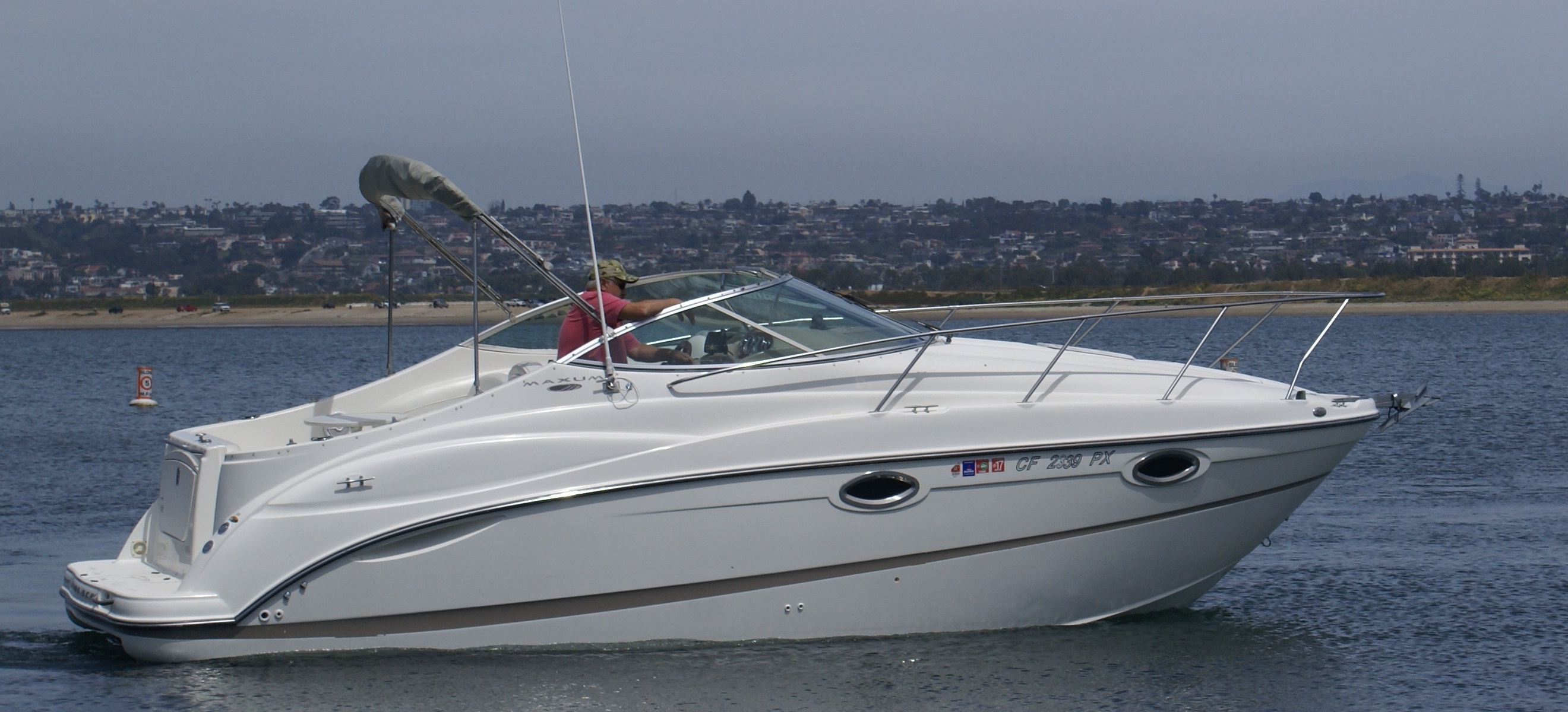 Maxum Boat
